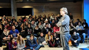 Encuentros en la Fundación Telefónica sobre Tecnología y 7º Arte con David Trueba