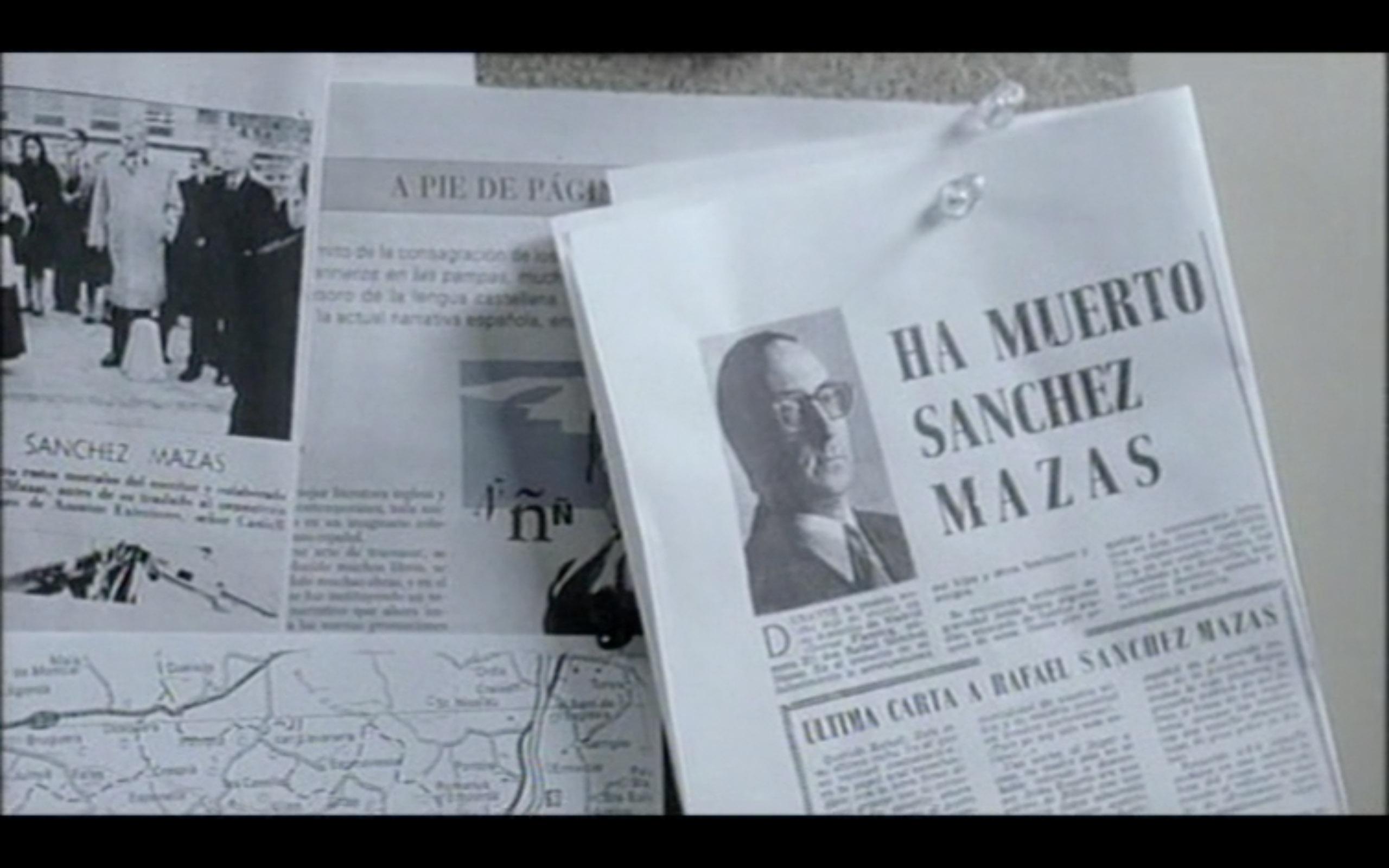 Soldados de Salamina. Algo más sobre Sánchez Mazas