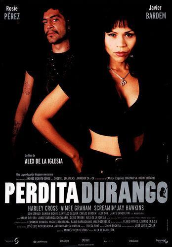 Perdita Durango. Cartel