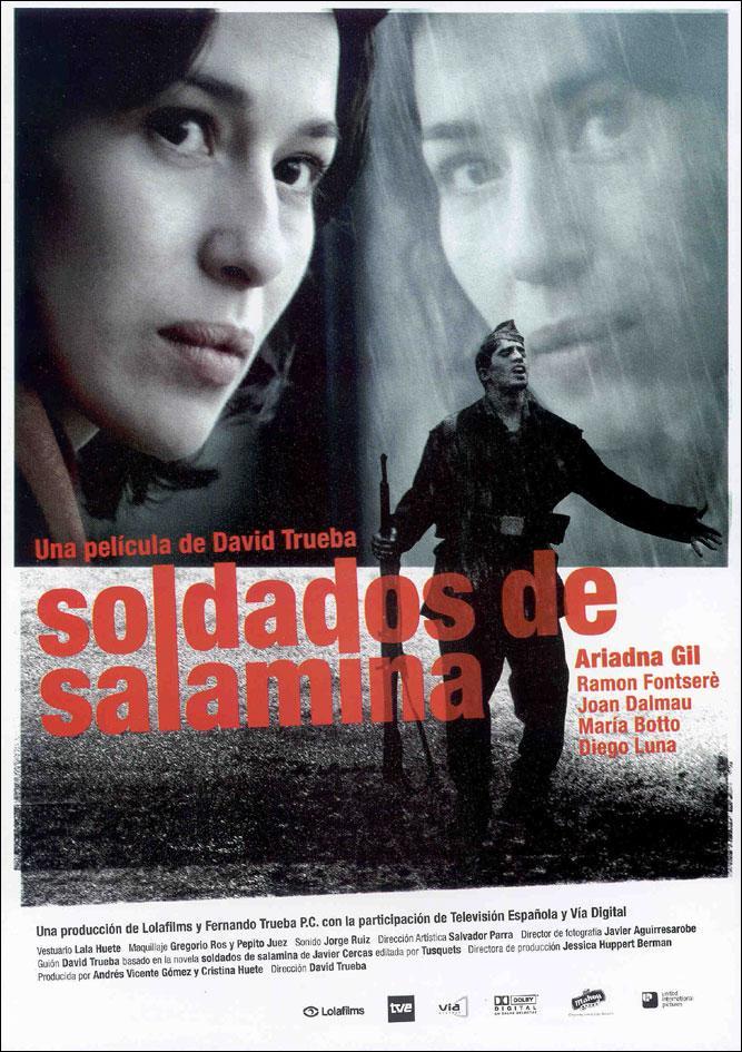 Soldados de Salamina. Cartel