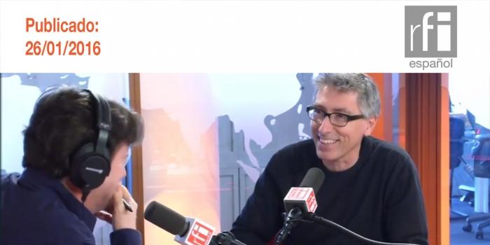 El escritor y cineasta David Trueba publica en Francia la traducción de 'Blitz', su última novela