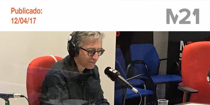 Entrevista a David Trueba en La Corrala. M21 Radio