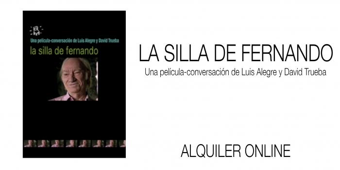 LA SILLA DE FERNANDO. Alquiler online