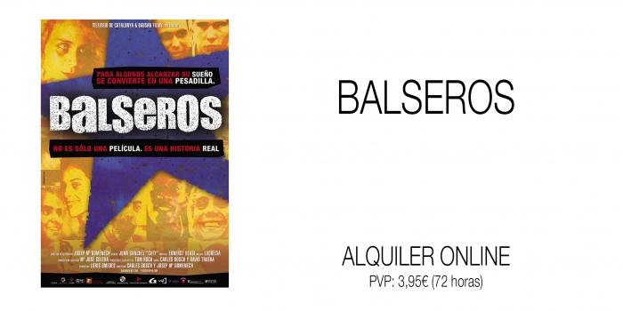 BALSEROS. Alquiler online